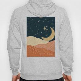 Moonshine Abstract Desert Hoody