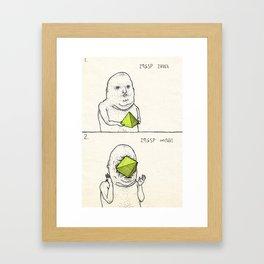 An untitled short story Framed Art Print