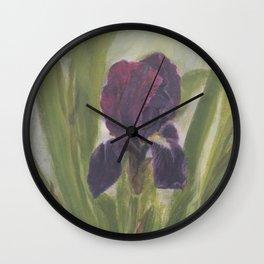 All Iris Wall Clock