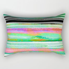 colorful abstract painting Rectangular Pillow