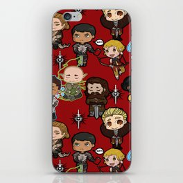 The Chibi Inquisition iPhone Skin