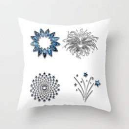 Decor Ornament Jewelry Throw Pillow