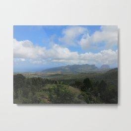 Mauritius view Metal Print