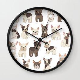 French Bulldog Life Wall Clock