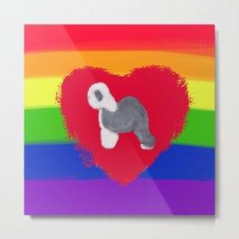 Sheepie Pride Metal Print