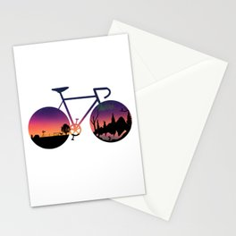 Pedaling North Stationery Cards