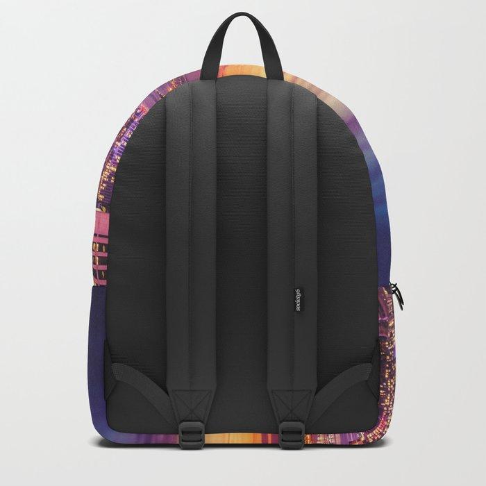 New York City Dusk Sunset Backpack