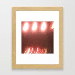Abstracte Light Art in the Dark 20 Framed Art Print