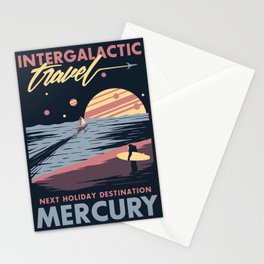 Intergalactic Travel Stationery Cards