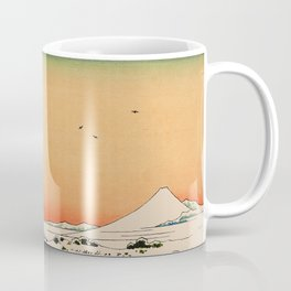 Snow at Koishikawa - Vintage Japanese Art Coffee Mug
