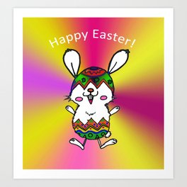 Easter Rabbit Art Print