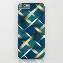 Saint Patrick's tartan cloak. iPhone Case