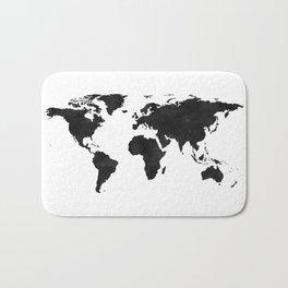 World Map Wall Art,World Map Canvas,World Map Print,World Map Poster,Printable Art,World Map Svg,Wat Bath Mat