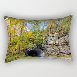 Smoky Mountain Tunnel Rectangular Pillow