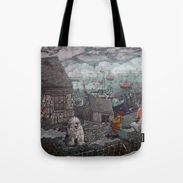 Home for the Harbor Tote Bag
