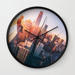 Dawn of Nightscape Wall Clock