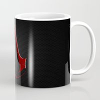 assassins creed Mugs featuring CREED ASSASSINS LOGO by Bilqis