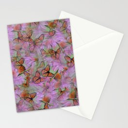 Monarch Mania Stationery Cards