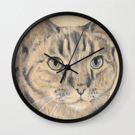 SHEILA THE CAT Wall Clock