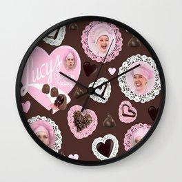 LUCYS CHOCOLATE FACTORY Wall Clock