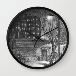 Repair workshop Wall Clock