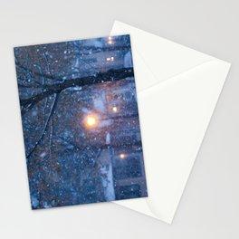 Morning Snowfall Stationery Cards