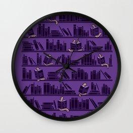 Bookworms Wall Clock