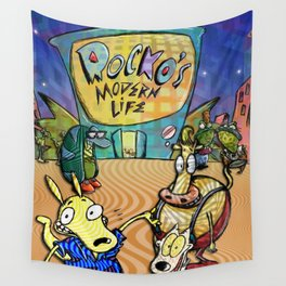 Rocko's Modern Life Wall Tapestry