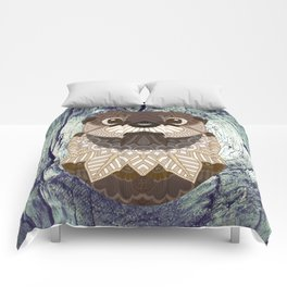 Ornate Otter Comforters
