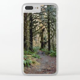 Rainforest Adventure II Clear iPhone Case