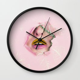 Glamour #society6 #decor #buyart Wall Clock