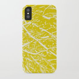 Vintage Veins iPhone Case