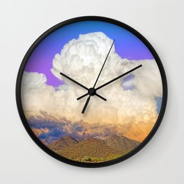 Sonoran Sunset Sundae (with a scoop of vanilla( Wall Clock