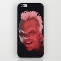 david fleck iPhone & iPod Skins featuring David by Jehzbell Black