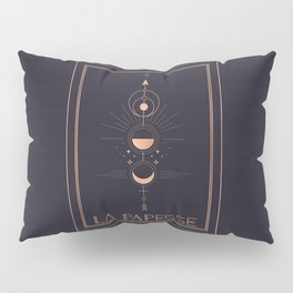 La Papesse or The High Priestess Tarot Pillow Sham