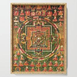 Mandala of Vairochana Buddha Sarvavid Serving Tray