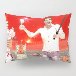 SquaRed: Opposite Pillow Sham