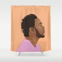 Kendrick Lamar, Salmon Shower Curtain
