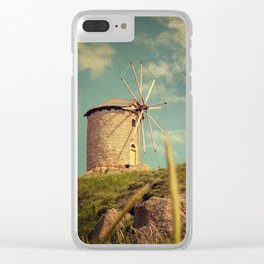 Windmill 14:48 Clear iPhone Case