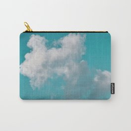 Floating cotton candy with blue green Carry-All Pouch