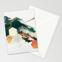 Mountainsides Stationery Cards