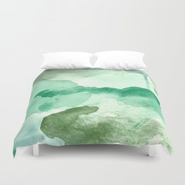 Meadow Pool Abstract Duvet Cover
