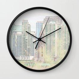 Lackawanna - Hoboken Terminal Wall Clock