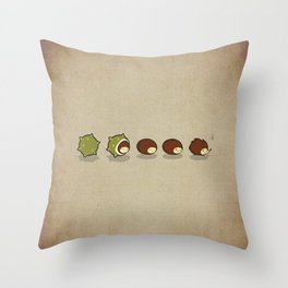 Let There Be Hedgehogs Throw Pillow