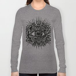 ALL-SEEING DEITY - EYE OF PROVIDENCE Long Sleeve T-shirt