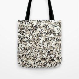 Snow Geese Migration Tote Bag
