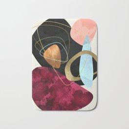 Abstract Pebbles II Bath Mat