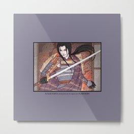 Kagetora (Dragon Lord of Echigo) Metal Print