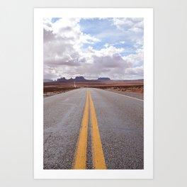 Make Your Way Art Print
