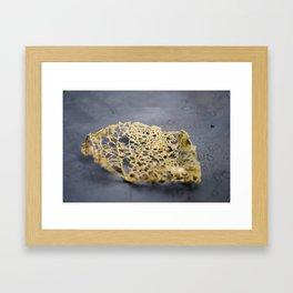 Leaf Lace Framed Art Print